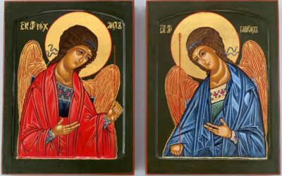 Silent Auction of Two Archangel's Icons for Advent 2020