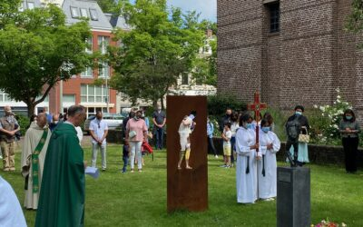 20th Anniversary of World Refugee Day commemorated in our church garden